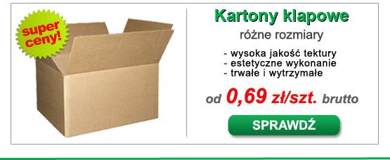Kartony 200x120x80 z opisem i ceną