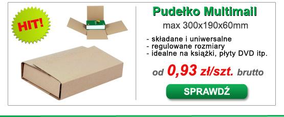 Pudełko tekturowe Multimail