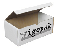 Pudełko kartonowe z logo